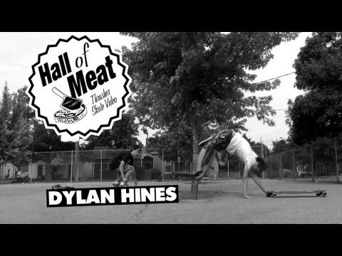 Dylan Hines Knee Ligament Snapping - Longboarding Hall Of Meat