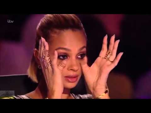 Britain's Got Talent 2016 GOLDEN BUZZER act Jasmine Elcock A True  Superstar Full Audition