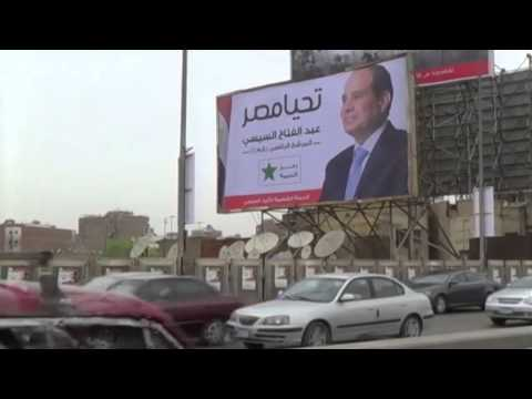 El-Sisi Expected to Win Egypt's Presidential Election