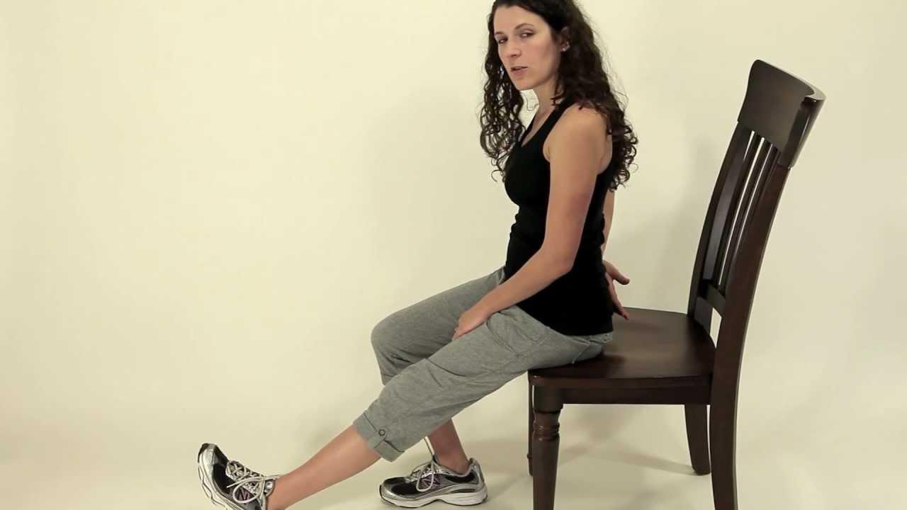 Leg Exercise Seated Hamstring Stretch 1 Youtube