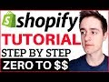 Download Shopify Tutorial For Beginners 2018 - How To Create A Profitable Shopify Store From Scratch in Mp3, Mp4 and 3GP