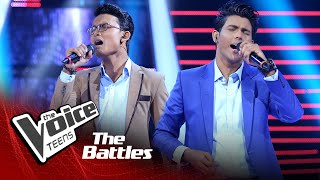 The Battles : Ashintha Perera v Sandun Mahesh | Sanda Ona (Masha) | The Voice Teen Sri Lanka