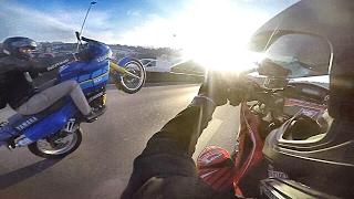 Crash moto Violent Street WHEELIE [SPM Crew 2017]