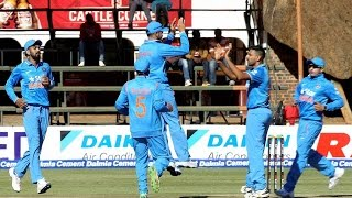 Zim vs India 2nd ODI : India defeats Zimbabwe to clinch 3 ODI series by 2-0 | Oneindia News