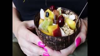How To Make Coconut Bowl