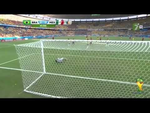 Mexico vs Brasil 0 0 Mundial Brasil 2014 TV AZTECA