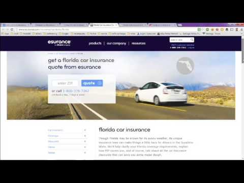 Low Cost Auto Insurance Florida Online