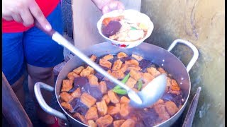 Asian Street Food - Fast Food Street in Asia, Cambodian food #119, Noodles Khmer