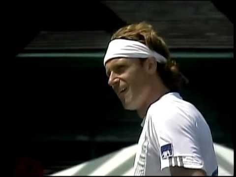 Greatest tennis shot ever!