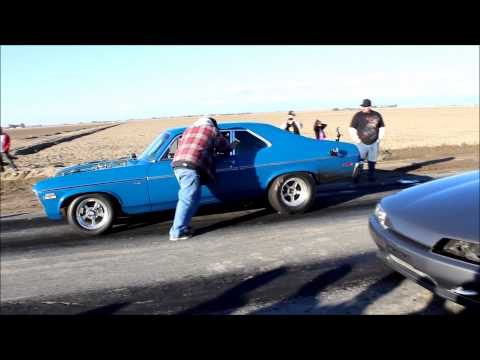 Chevy Nova vs Nissan Skyline R32