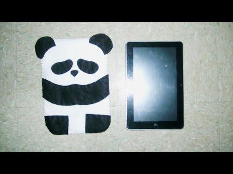 Funda Para Tablet // Oso Panda