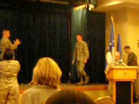 Luke AFB Promotion Ceremony May 2009 Video