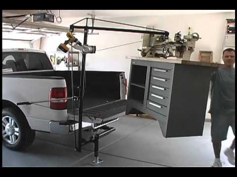DPX Systems  Hitch Witch Loading a Lathe