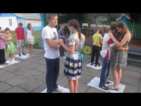 """Лагерь имени Веры Терещенко, танец пар на """"островке""""))"""