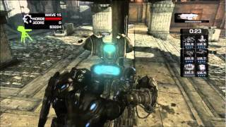Gears of war 3_ Horde Fully upgraded Fortifications