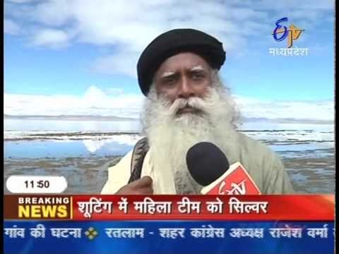 A Special Feature on Isha Kailash Sojourn 2010 by ETV News Channel (Hindi)