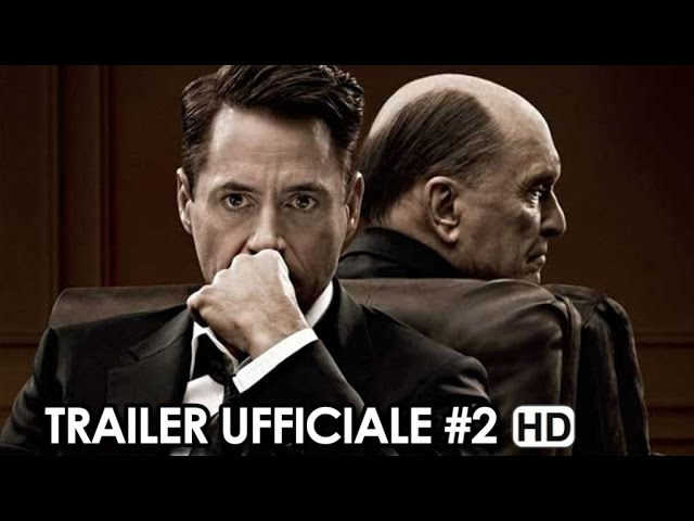 The Judge Trailer Ufficiale Italiano #2 (2014) Robert Downey Jr., Robert Duvall Movie HD