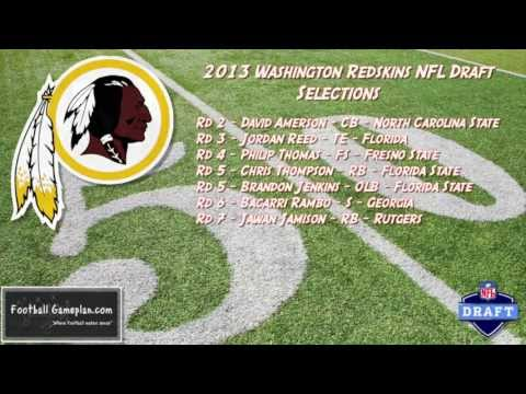 Football Gameplan's 2013 NFL Draft Grades - Washington Redskins