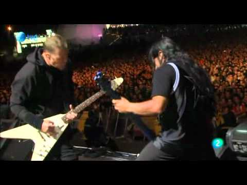 Metallica - Fight Fire With Fire (Live @ Rock In Rio, 2010)