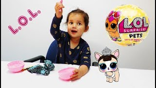LOL Surprise Pets Series 3 Kids Toy Playing Water Dog or Puppy Review