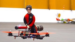 REAL RC SPIT FIRE DRAGON! AIR ACTION! AWESOME ANIMALS IN THE AIR! FLYING HARRY POTTER!