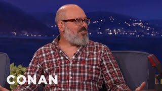 "David Cross' Network TV Debut On ""Late Night"" Was Censored  - CONAN on TBS"