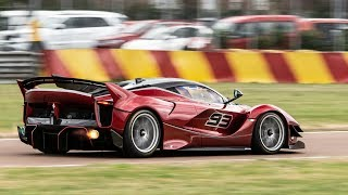 COLLECTING A $5 MILLION Ferrari FXX-K Evo at Fiorano (Reveal, SAVAGE sounds and on-board)