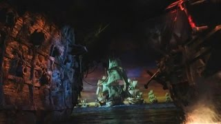 [English] Shanghai Disneyland - Pirates of the Caribbean: Battle for Sunken Treasure