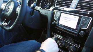 Hands On: Android Auto on the 2016 Volkswagen Golf-R