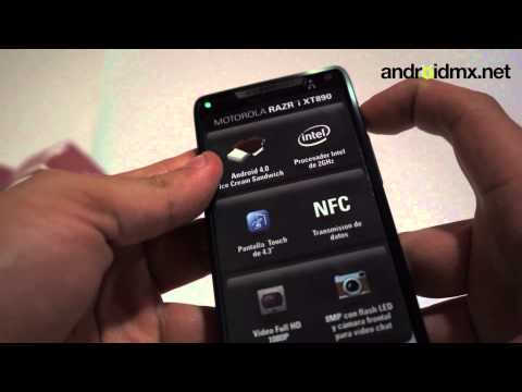 Unboxing Motorola RAZR i XT890
