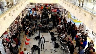 Orkestra Allegro Alanyum AVM´de - Allegro Orchestra at Alanyum Shopping center in Alanya 23.12.2014