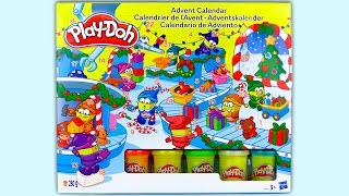 Play-Doh Advent Calendar for Kids and Babies, Christmas Play Dough Surprise Toys, New Year 2017