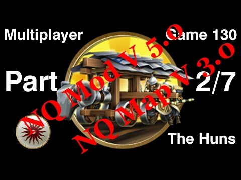 Civilization 5 Multiplayer 130: Huns [2/7] ( BNW 8 Player Free For All) Gameplay/Commentary