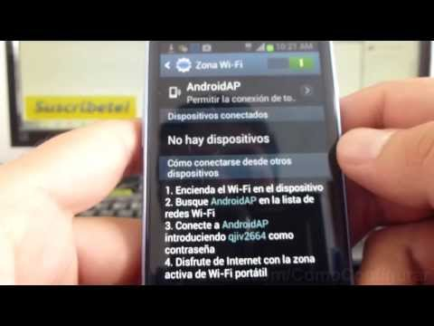 como compartir internet del celular al pc samsung Galaxy s3 mini i8190 español Full HD