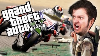 GTA 5 PC Online Funny Moments - RPGS VS BIKERS! (Custom Games)