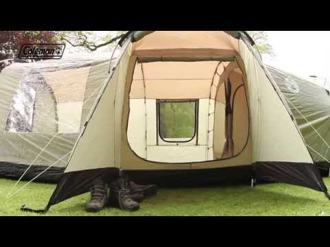 Coleman® MacKenzie Cabin 6L - Family Camping Tent