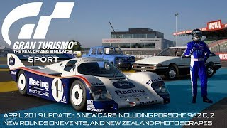 Gran Turismo Sport : April 2019 Update - 5 New Cars, 2 New Rounds, and New Zealand Photos