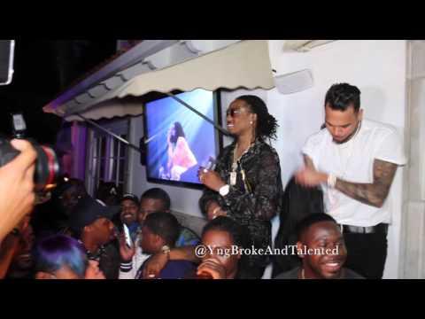 Quavo's Bday with Chris Brown & Sean Kingston