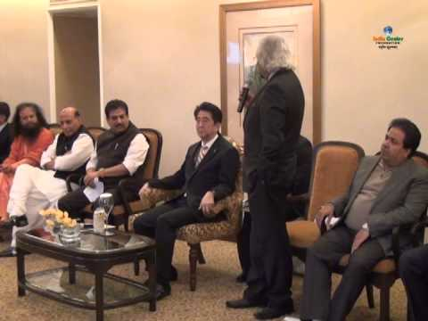 Shri Sam Pitroda's Speech at Icf Hosted Interaction with H E Shinzo Abe