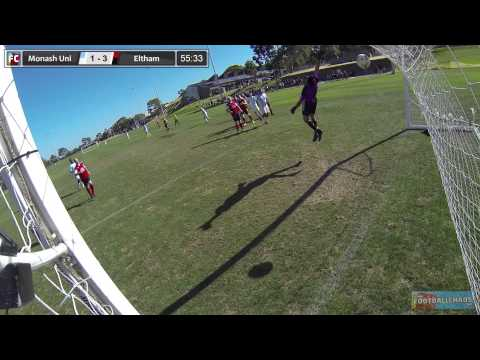 WHAT A GOAL! Monash University v Eltham Redbacks