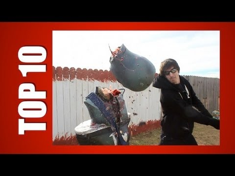 TOP 10: ZOMBIE DECAPITATIONS! - ZOMBIE GO BOOM