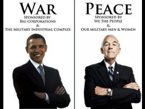 Barack Obama VS Ron Paul 2012