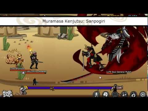 Cheat Ninja Saga 1 Hit Kill With Cheat engine 6.3