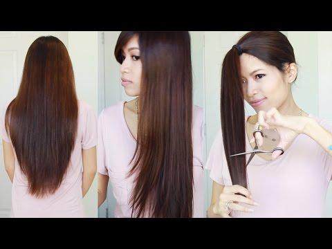 media diy haircut long layer for all hair types
