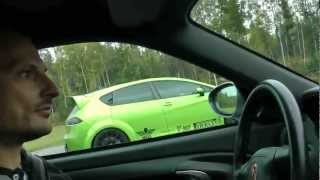 Seat Leon Cupra AWD vs Porsche 996 Turbo Tuned