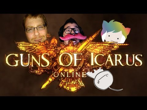 TGS Guns of Icarus Battle Royale - Markiplier POV
