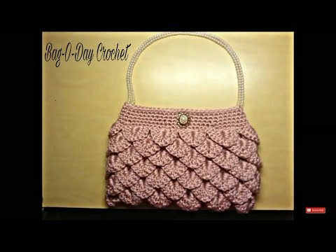 Crochet Clutch Purse Tutorial