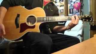 James Morrison Coolio Featuring Gangsta s Paradise Guitar Acoustic cover solo improvisation