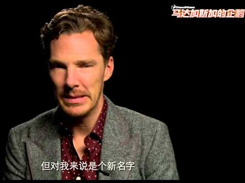 Benedict Cumberbatch speaks Chinese