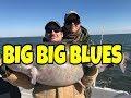 Catching Blue Catfish on Lake Tawakoni 2018